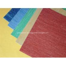 Material de vedação para folha de borracha não amianto resistente ao óleo