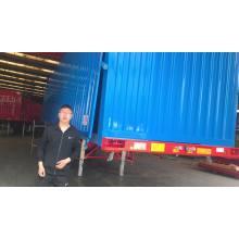 Lianghong Brand Trailer box semi trailer