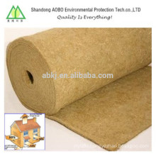 thickness 2-50mm natural jute felt for industry in hot sale
