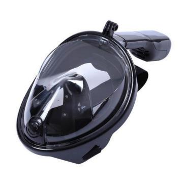 Chaude 2017 Masque de Snorkel Plein Visage Respiration Conception Libre Snorkeling avec Anti-buée et Prévenir Gag Reflex avec Conception Tubeless pour Adultes et Jeunesse