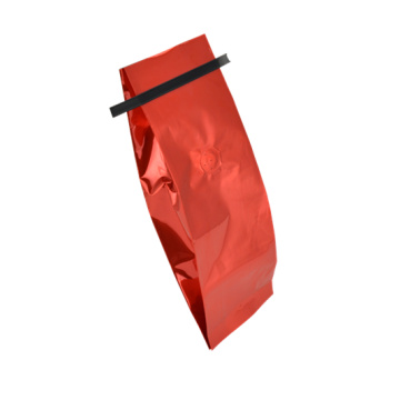 Side Gusset Pouch With Tin Tie For Coffee