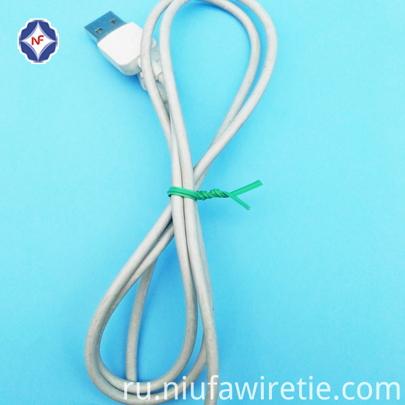 Plastic Tin Tie For Power Cord Bundling