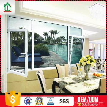 Precio de fábrica Estilo de moda por encargo Diseño de la ventana de aluminio Precio de fábrica Estilo de moda por encargo Diseño de la ventana de aluminio