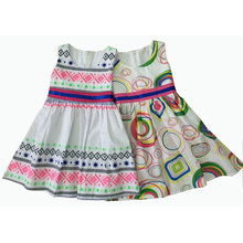 Fashion Cotton Girl Dress in Children Clothes (SQD-132-141)