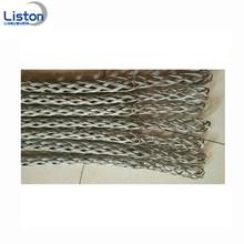 Apertos de malha de arame de aço inoxidável de manga de conector de cabo