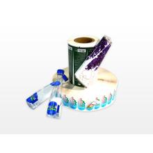 Etiqueta de impresión a doble cara personalizada para agua potable