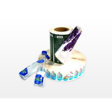 Étiquette d'impression recto verso personnalisée pour l'eau potable