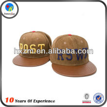 New Design Custom Hipster Snapback Hat