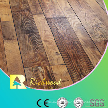 12.3mm E0 HDF AC3 Embossed Oak V-Grooved Water Resistant Laminate Flooring
