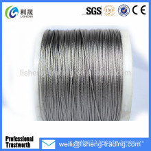 6 * 7 + FC High Tensile Ungalvanized Steel Wire Rope