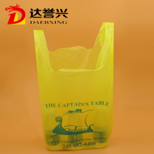Colorful T Shirt Plastic Recycling Bag Supermarket