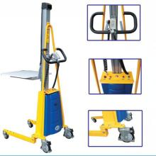 China for Light-Duty Stacker Truck 80KG Semi-Electric light-duty Pallet stacker supply to United Kingdom Suppliers