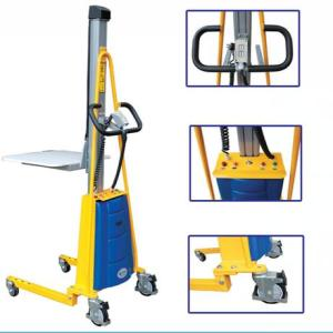150KG Semi-Electric light-duty pallet stacker