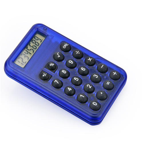 colorful Small Pocket Calculator