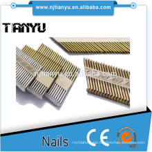 bright pr galvanized paper framing nails with 2.87-3.33 mm shank diameter