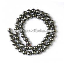 8MM Hematite loose round beads for jewelry