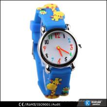 Relógios de silicone impermeáveis personalizados para crianças 5ATM