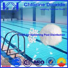Désinfectant au dioxyde de chlore pour la stérilisation des piscines