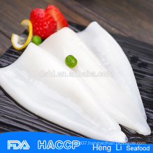Delicious best quality frozen squid tube
