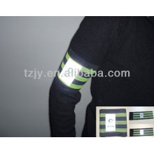 PVC reflective armband for sport
