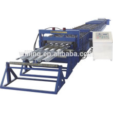 composite metal floor tile decking forming machine/galvanized iron wire decking machine