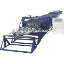 Máquina de moldagem de rolos de piso ondulado