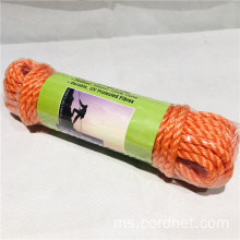 Multipurpose Orange PE Mono twist cord