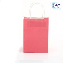 OEM изготовленный на заказ роскошный высокого качества напечатанный бумажный мешок подарка с ручкой PP