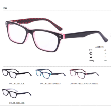 2017 atacadista estojo de óculos de acetato óptico de estoque pronto