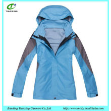 European designer skiing jacket for women
