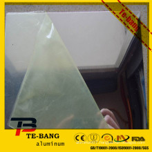 aluminum mirror with protection film