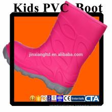 JX-916P CE colorful PVC kids rain boots & rubber rain boots for children