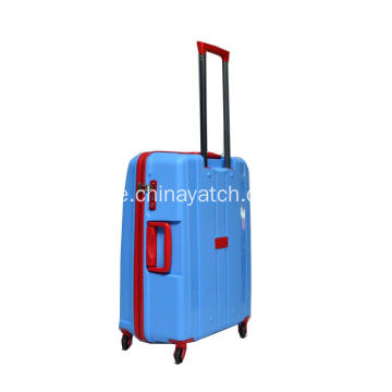 PP Unbreakable Bagage Set med aluminium vagn