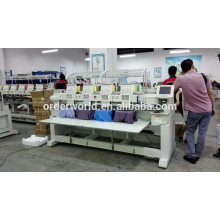 12 colors Four Head Embroidery Machine, 4 heads embroidery machine