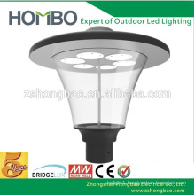 High bright CE Rohs certificate 3 years guarantee dome garden light decorative parking lot lighting led garden light fixture
