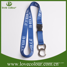 Promotional Cheap Custom Beer Opener with Lanyard