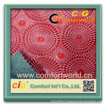 2014 Fashion ningbo manufacturer high quality oem soft pvc artificial leather for decoration