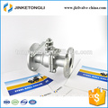 JKTLFB001 a216 wcb 2pc air flange stainless steel seat ball valve