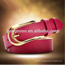 2014 nouvelle ceinture de cuir pour fête de la mode