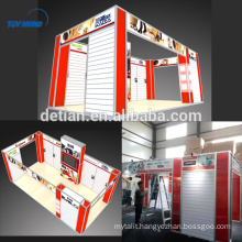 Detian Offer acrylic display stands modular exhibition booth display stand for exhibition