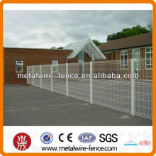 pvc coated security V wire fence