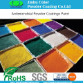 Pure epoxy resin powder paint coating