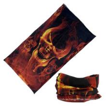 ¡Envío soldado-LIBRE del pañuelo de la bufanda del tubo del cuello de la máscara de la motocicleta del cráneo del fuego!