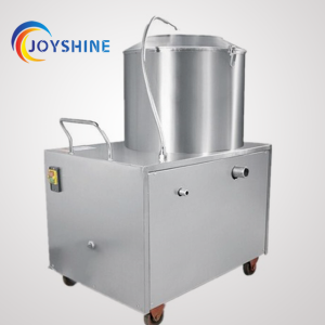 stainless steel brush potato washing peeling machine