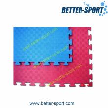 Reversível Vermelho Azul Cor EVA Taekwondo Mats