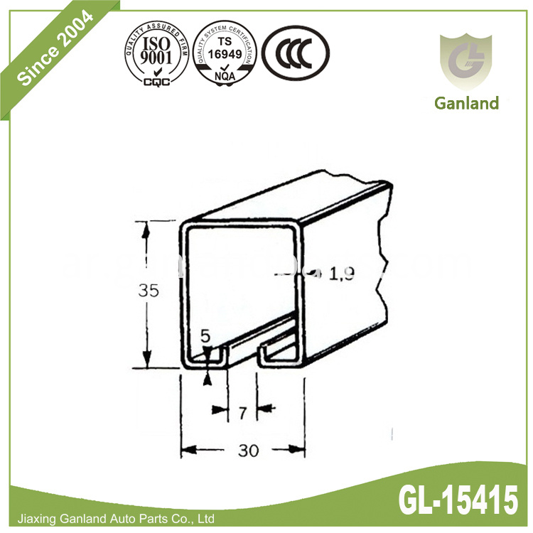 curtain track gl-15415