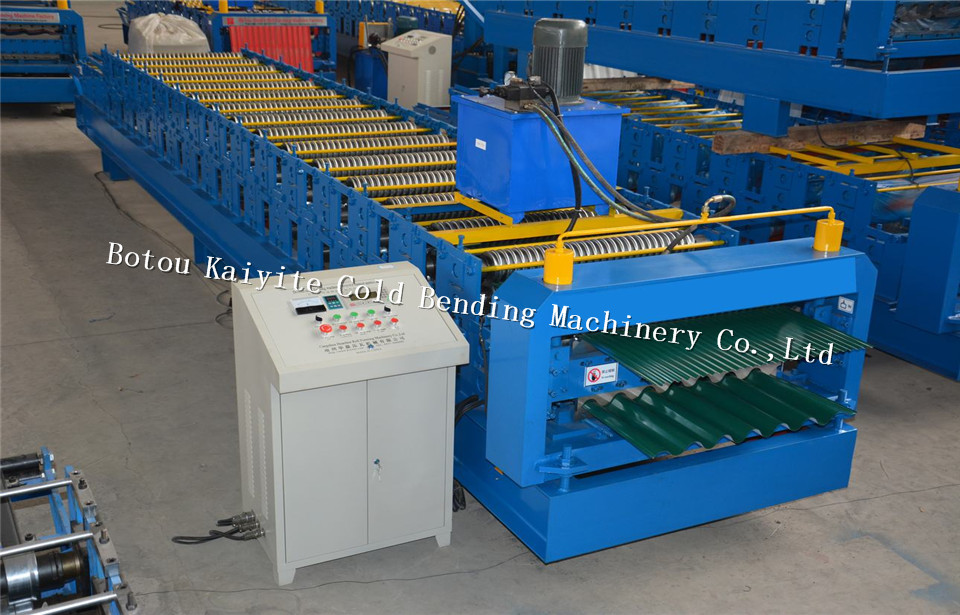china double layer roll forming machine