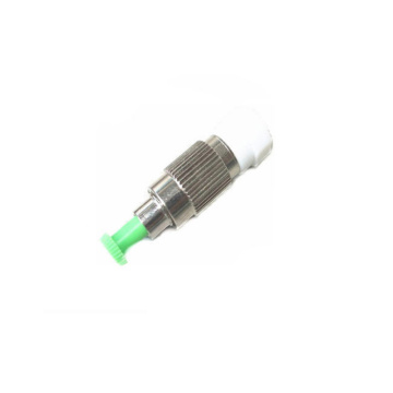 Green FC Fiber Optic Variable Attenuator