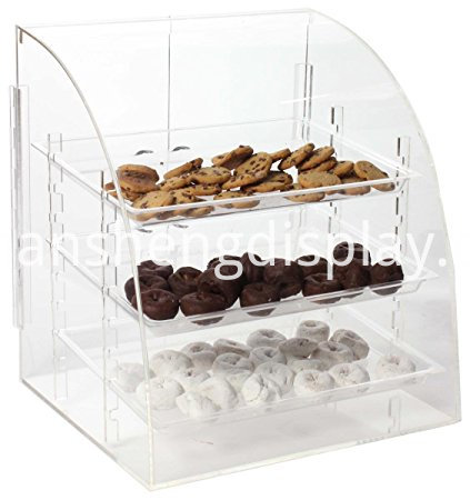 acrylic food display trays