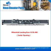 NV31-002 Puerta de aterrizaje, 2 paneles Puerta de aterrizaje de apertura central / lateral